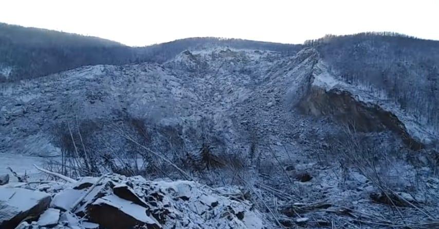 В Хабаровском крае упал бесшумный метеорит или это был оползень