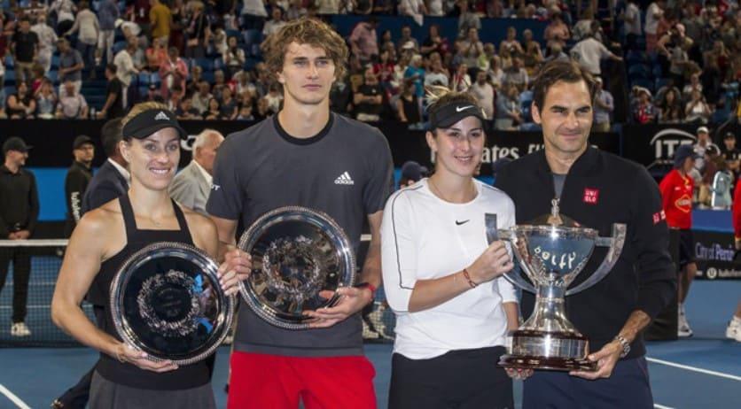 Федерер и Бенчич выиграли в финале Кубка Хопмана