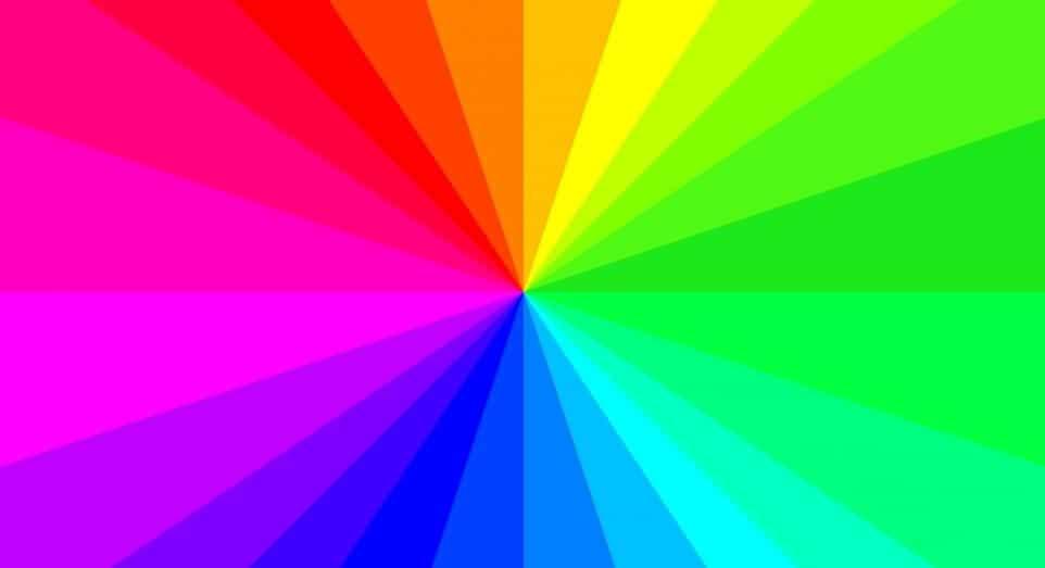 Значения разных цветов и оттенков